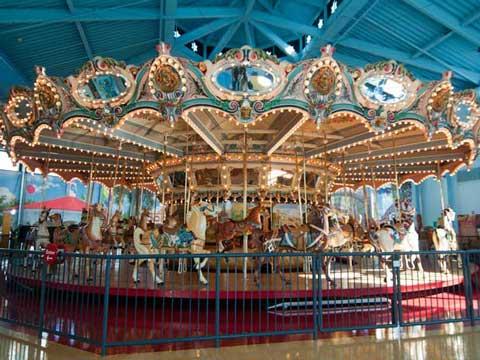 indoor carousel merry go round