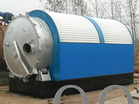 furnace-of-tyre-oil-extraction-machine