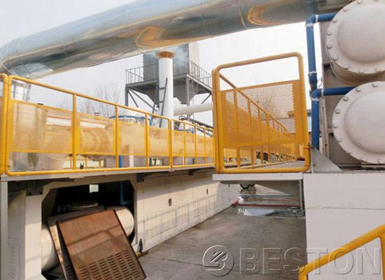 continuous plasitc pyrolysis equipment