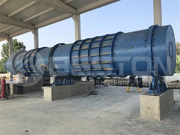 BST-50 Charcoal Machine in Turkey
