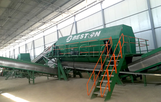 Beston Solid Waste Management Plant Installed in Uzbekistan