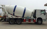 trailer concrete mixers