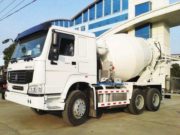 ready mix concrete mixer truck